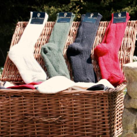 Alpaca Socks & Bags